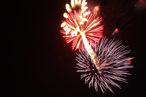 Fireworks in Colby, Kan.