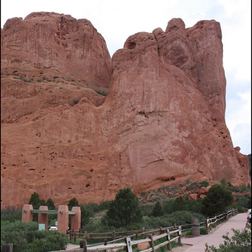 People actually climb this thing. #gardenofthegods