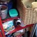 Caixa para louça e o resto ainda falta organizar