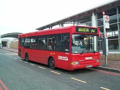 Stagecoach London SLD205 (W228 DNO) Lewisham 21/2/01 (jmupton2000) Tags: london buses pointer transport east dennis dart stagecoach slf plaxton selkent w228dno sld205