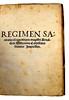 Title-page of Regimen sanitatis Salernitanum