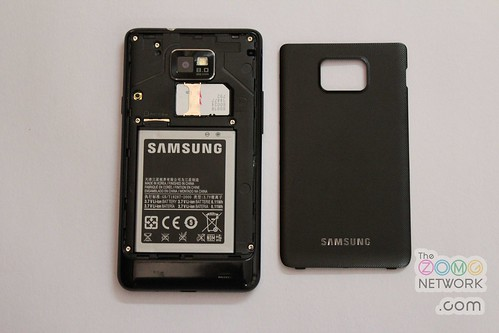 Overall, the Samsung Galaxy S II has pretty good ergonomics for a