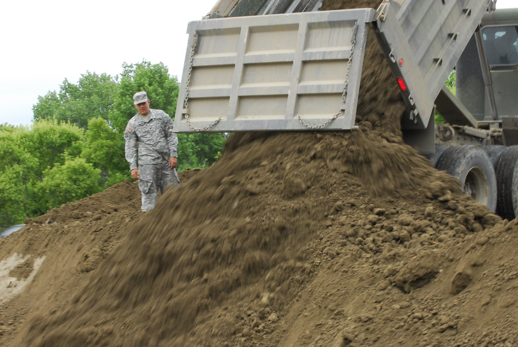 Minnesota Guard engineers clean up Minot after flood