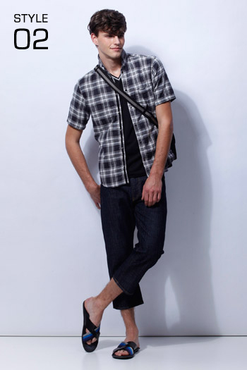 Robert Rae0124_23区 HOMME 2011 Spring & Summer Collection