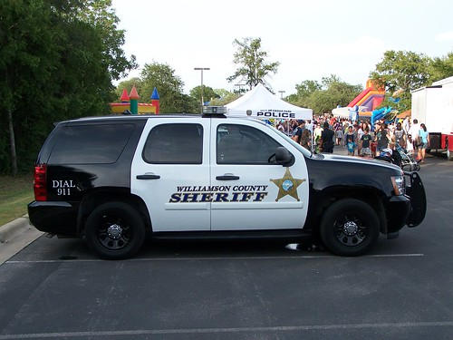 Williamson County, TX Sheriff's Department Tahoe - a photo