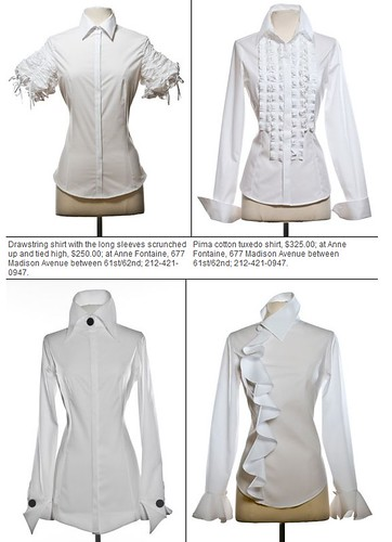 Anne Fontaine white shirts