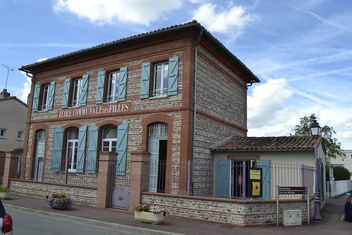"""Ancienne école des filles, aujourd'hui école de Musique """"Gabriel Fauré"""""""