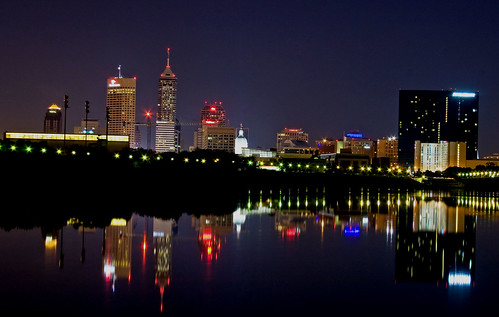 Indy river view