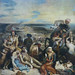 Delacroix, Scene of the massacre at Chios; Greek families awaiting death or slavery