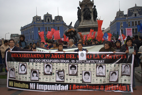 Relatives of the La Cantuta victims say no to a possible pardon for Fujimori