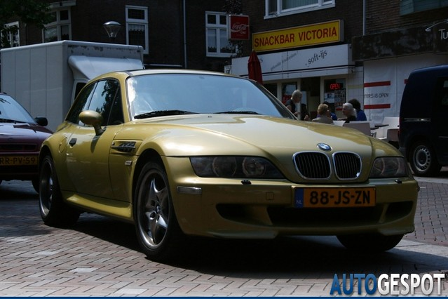 S54B32 M Coupe | Phoenix Yellow