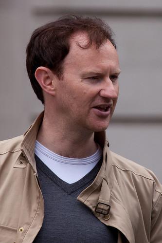 523/1000 - Filming of Sherlock - Mark Gatiss by Mark Carline