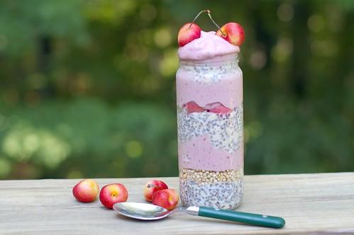 Vegan Raspberry Parfait
