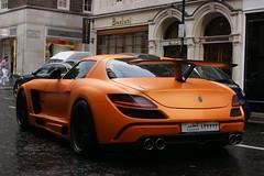 SLS Fab Design (Marcinek_55) Tags: fab london sport bristol design grand ferrari mclaren cinque mp4 zonda koenigsegg supercars veyron brabus supersport hamann maybach pagani agera xenatec