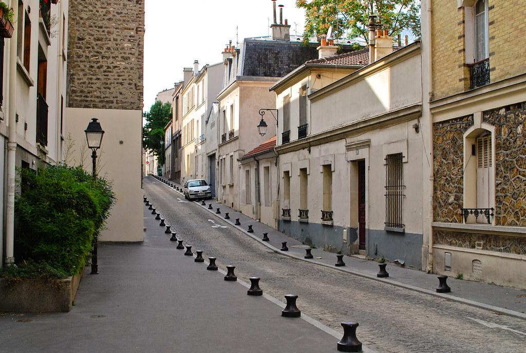 Maison basse de la rue Michal