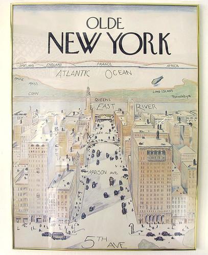 Saul Steinberg Olde New York