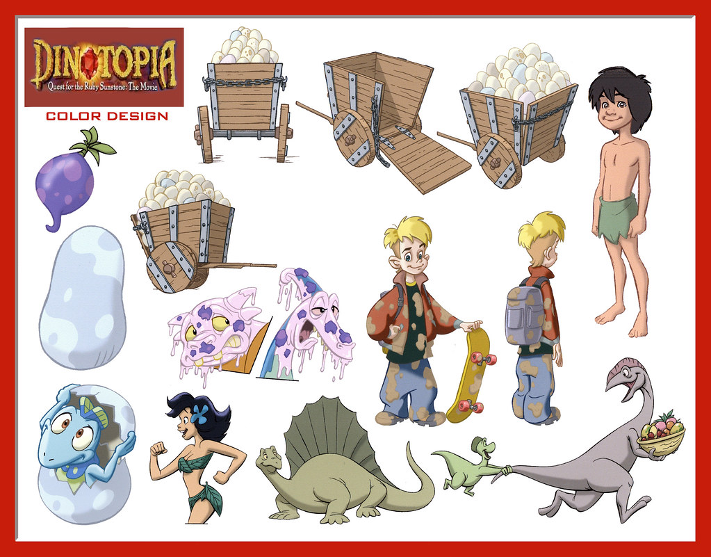 dinotopia coloring pages - photo#21