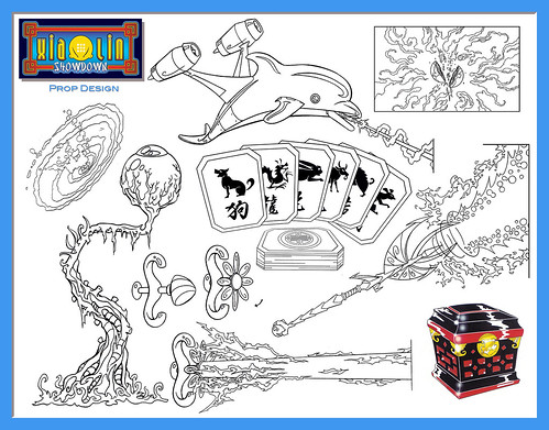 xiaolin showdown coloring pages - photo#8