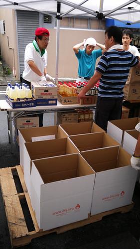 Food to Tohoku @2nd Harvest Japan by Rollofunk
