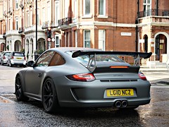 Ready for take off. 'Explored' (Niklas Emmerich Photography) Tags: red 2 summer england house black london car matt grey insane 911 ii porsche rs supercar sounds mk spotting gt3 grosvenor 2011 hypercar worldcars