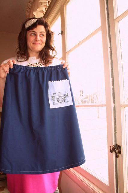 Skirt for Sarah!