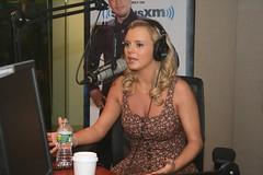 Bree Olson on the Covino & Rich Show (covinoandrich) Tags: show celebrity radio satellite rich sirius xm covino