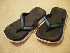 Daves Surfer Joe Thongs (asicsneakers) Tags: dave shoe shoes sandals surfer joe used daves thong thongs worn flipflops sandal