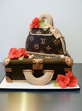 Louis Vuitton Cake by CAKE Amsterdam - Cakes by ZOBOT