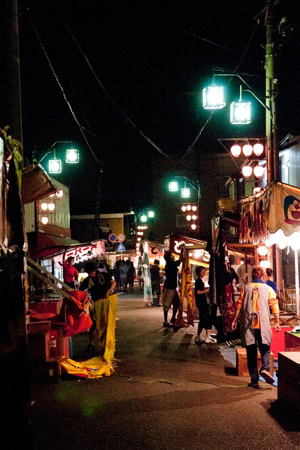 祭りのあと|滋賀県野洲市