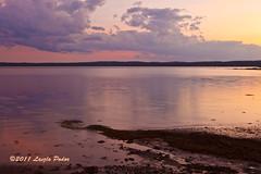 Sunset from our hotel room - St. Andrews, NB, Canada (laszlofromhalifax) Tags: canada water tide newbrunswick coastal shore standrews atlanticocean tidal gettyimagescanada