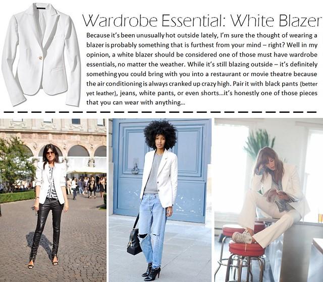 white blazer post