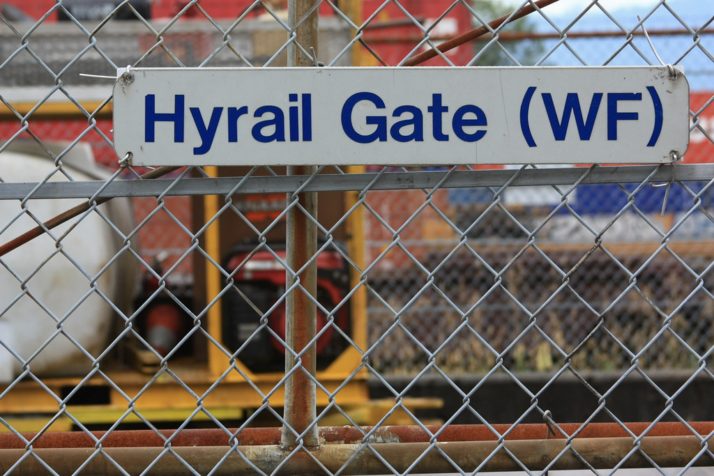 Hyrail Gate