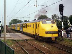 Plan U 128 (jvr440) Tags: railroad train ns railways trein spoorwegen dmu elst dieseltrain treinstel planu dieseltrein