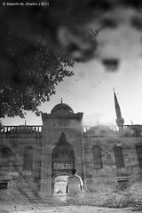 By light (Abdullh AL-Shthri  ) Tags: morning blue bw prayer istanbul mosque single                    turkey