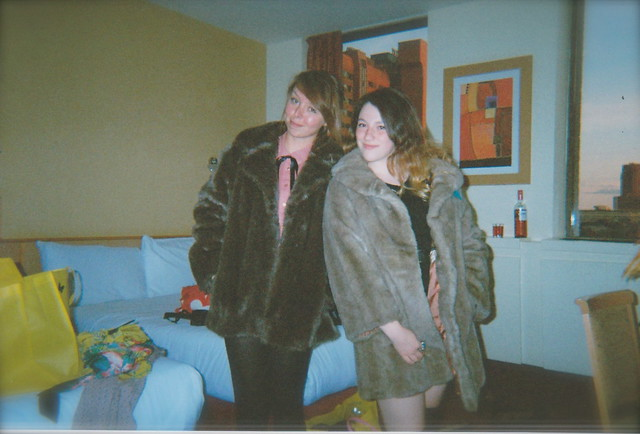 fur coat no knickers