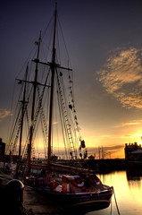 Sunset and masts (Shertila Tony) Tags: sunset england sky water liverpool europe ship britain tourist hdr albertdock goldenhour merseyside platinumheartaward oltusfotos boathdr bestcapturesaoi mygearandme mygearandmepremium mygearandmebronze mygearandmesilver mygearandmegold artistoftheyearlevel3