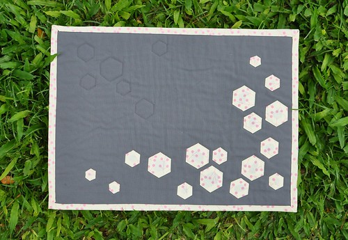 hexies placemat