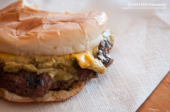 Winner (kit) Tags: chile food newmexico restaurant highway driving burger chiles cheeseburger hatch sparkys roadfood greenchiles greenchile greenchilecheeseburger kitsweeney