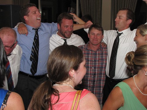 Sean and groomsmen