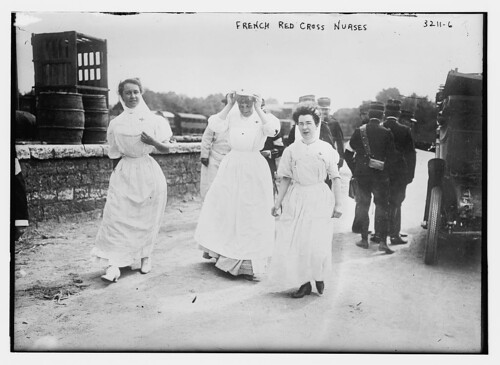 French Red Cross nurses (LOC)