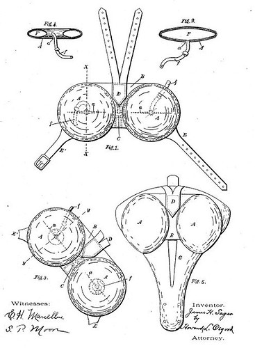 Patent for Bike Saddle 562919