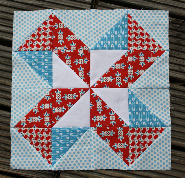 summer sampler block 8