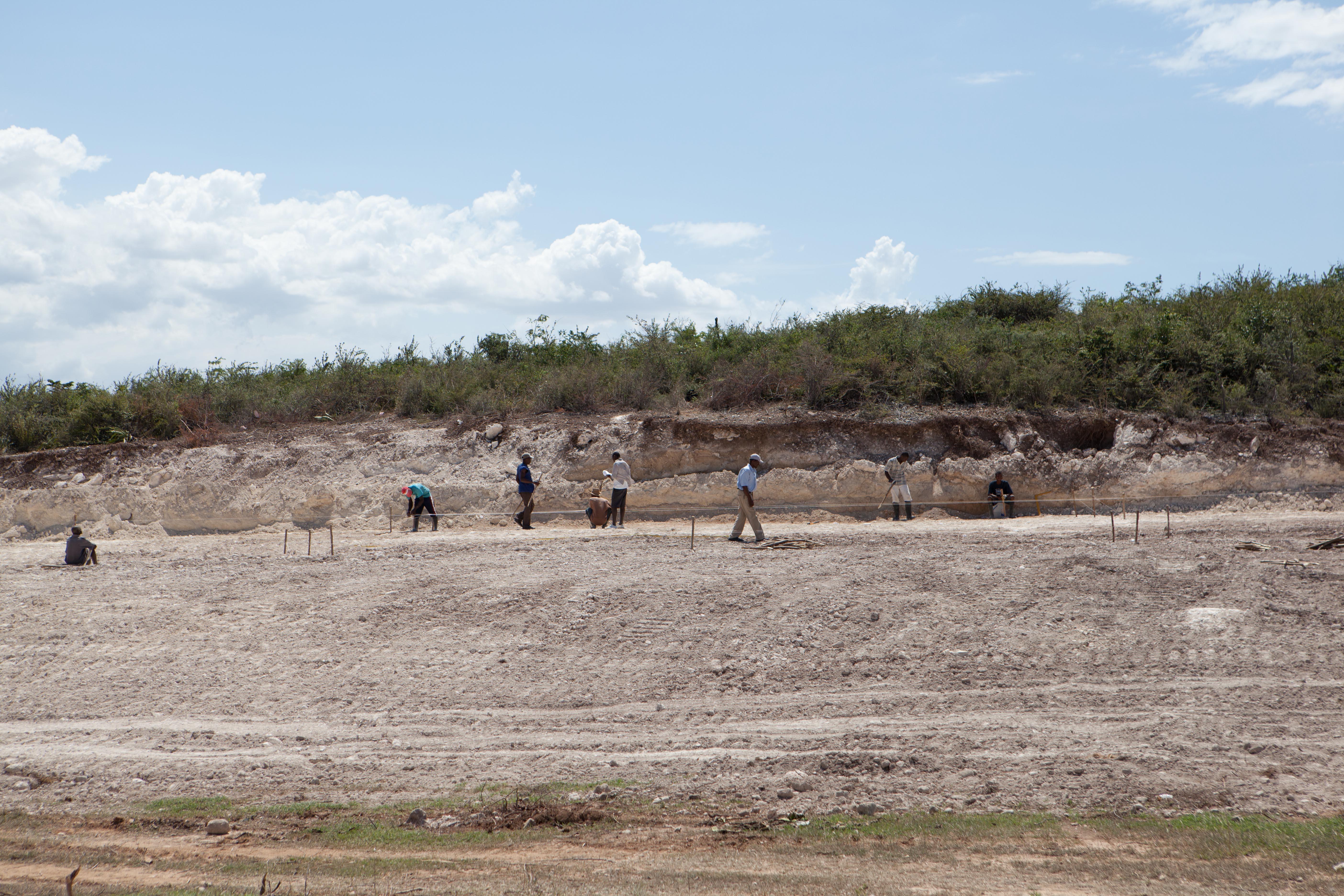 2011 아이티단기선교 건축현장 (7)
