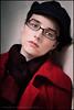 Pretty in Red (Danskie.Dijamco.Photography) Tags: red portrait glass beautiful hat lady scarf model women pretty sam portraiture emotional redscarf prettyinred danskie