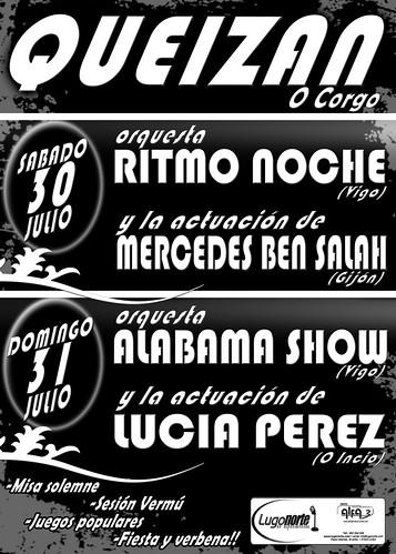O Corgo 2011 - Festas de Queizán - cartel
