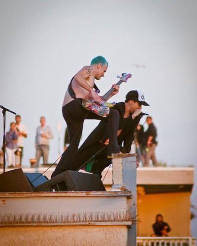 Red Hot Chili Peppers Venice Beach  July 30, 2011