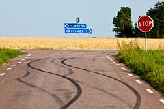 Road crossing (Hkan Dahlstrm) Tags: road sign skne crossing sweden stop f56 skane 2011 fav10 ef200mmf28lusm canoneos5dmarkii sek vastrakaraby