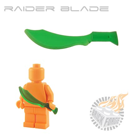 Raider Blade (of Poison) - Trans Green