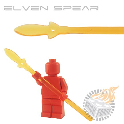 Elven Spear (of Fire) - Trans Orange