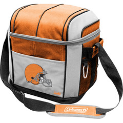 Cleveland Browns Coleman 24 Pack/Can Cooler Bag